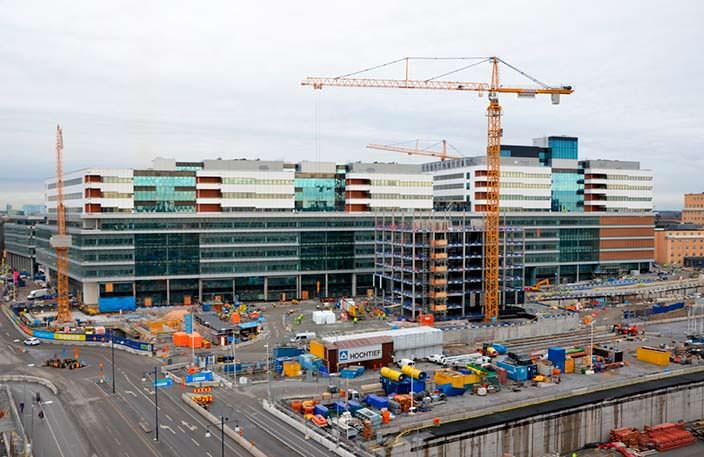 Медицинский комплекс Karolinska University Hospital. Цена $2,36 млрд