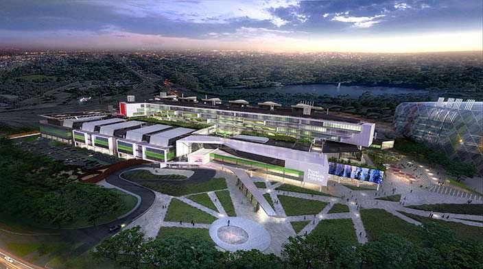Медицинский комплекс Royal Adelaide Hospital. Цена $2,1 млрд