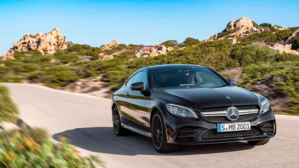 Рестайлинг Mercedes-Benz C-Class Coupe