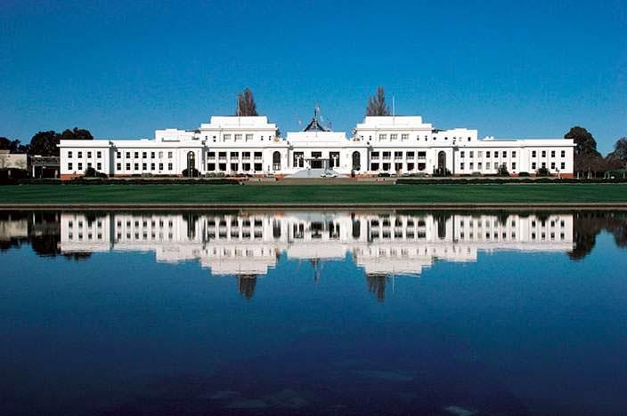 Здание Парламента Австралии. Цена $1,1 млрд