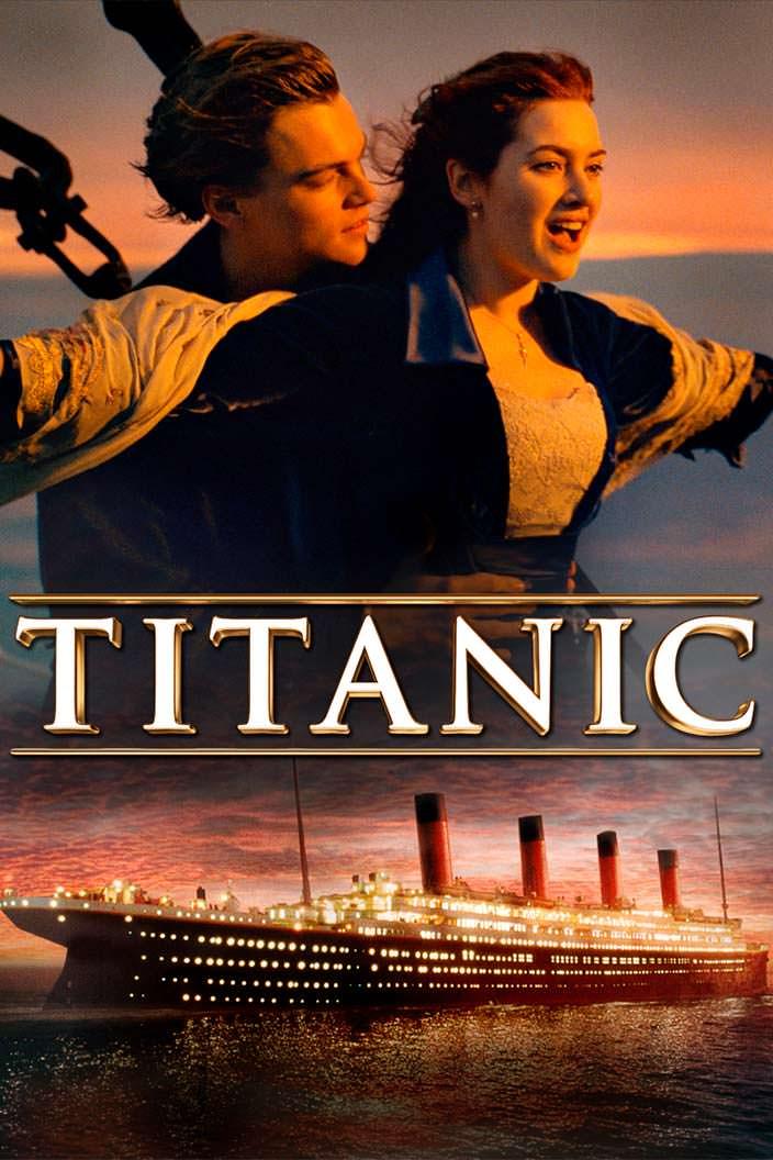 Постер «Титаник». 1997 год