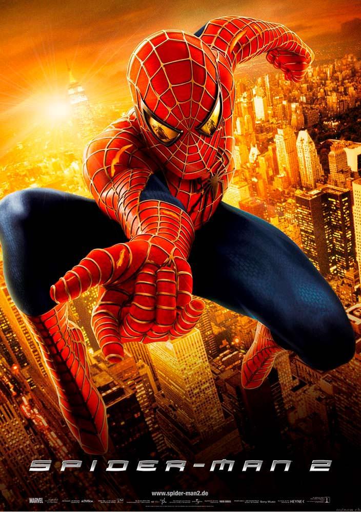 Постер «Человек-паук 2». 2004 год