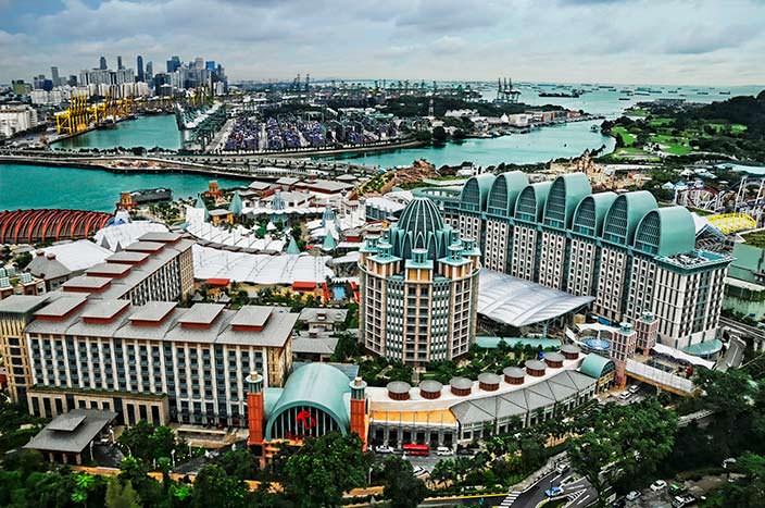 Курортный комплекс Resorts World Sentosa. Цена $4,93 млрд