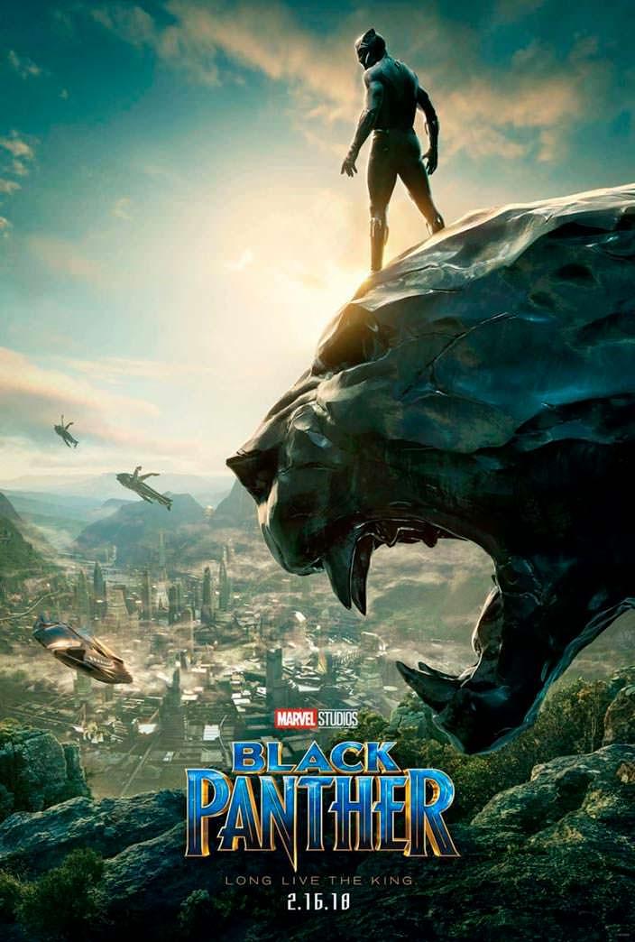 Постер «Чёрная Пантера». 2018 год