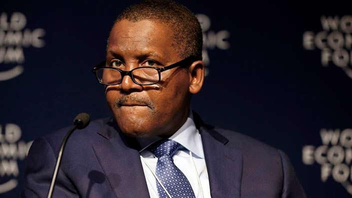 Миллиардер из Африки Алико Данготе