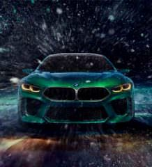 В Женеве показали большое купе BMW Concept M8 Gran Coupe