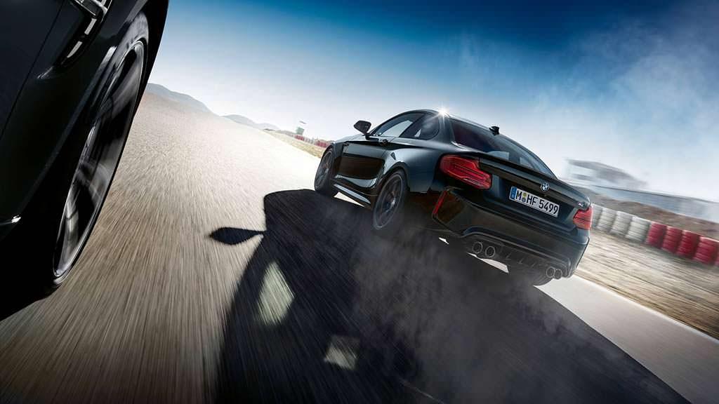 Спецверсия BMW M2 Coupe Edition Black Shadow
