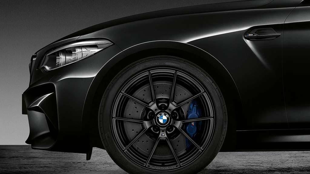 Чёрные 19-дюймовые диски BMW M2 Coupe Edition Black Shadow