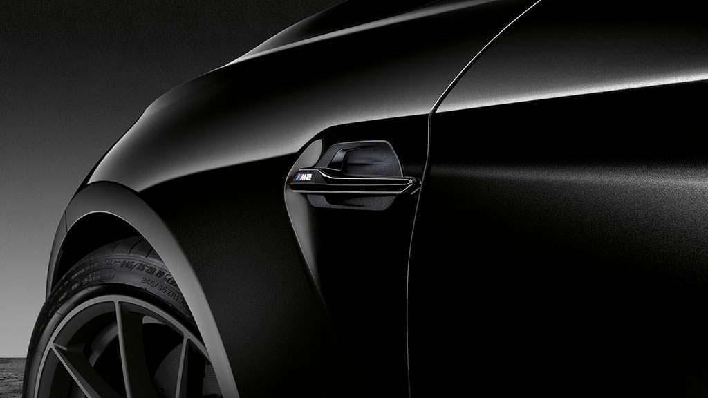 Чёрный кузов BMW M2 Coupe Edition Black Shadow