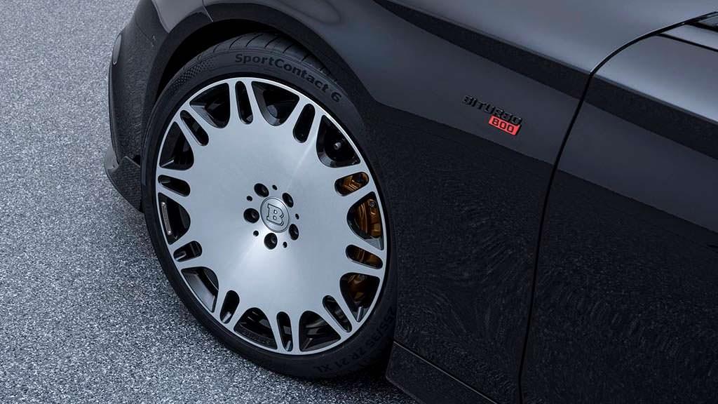 Mercedes-AMG S63 Coupe на 22-дюймовых колесах от Brabus
