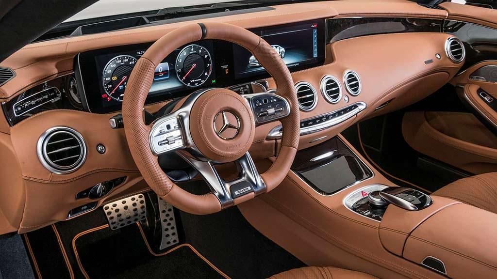 Фото салона Mercedes-AMG S63 Coupe от Brabus