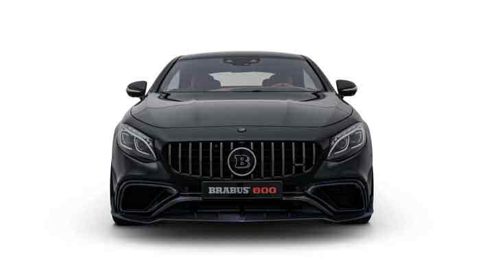 Brabus сделал тюнинг для седана и купе Mercedes-AMG S63
