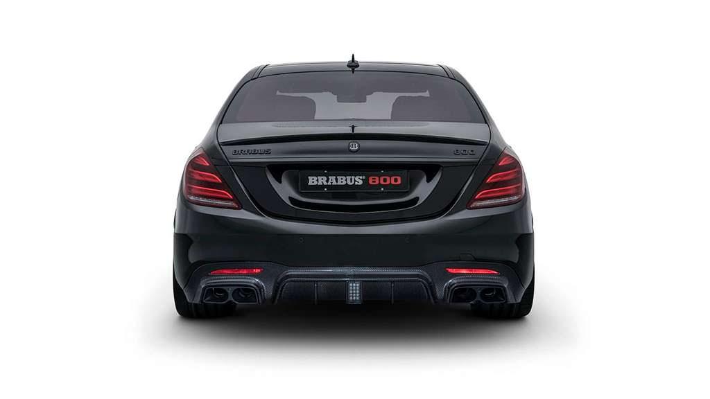 Супер-седан Mercedes-AMG S63. Тюнинг Brabus