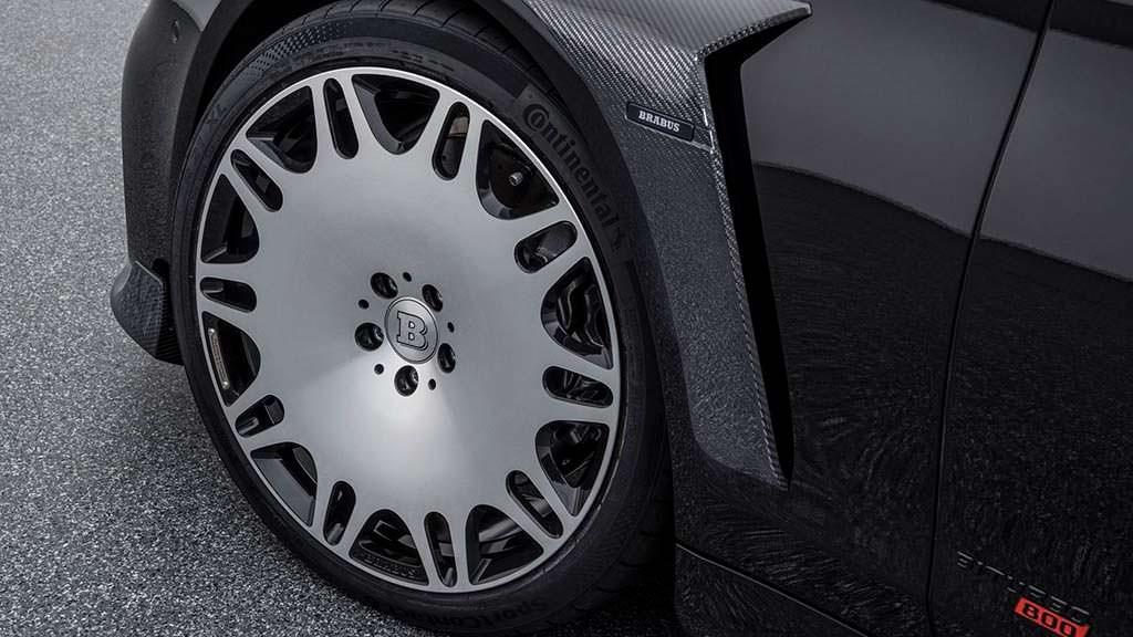 22-дюймовые колесные диски Mercedes-AMG S63. Тюнинг Brabus