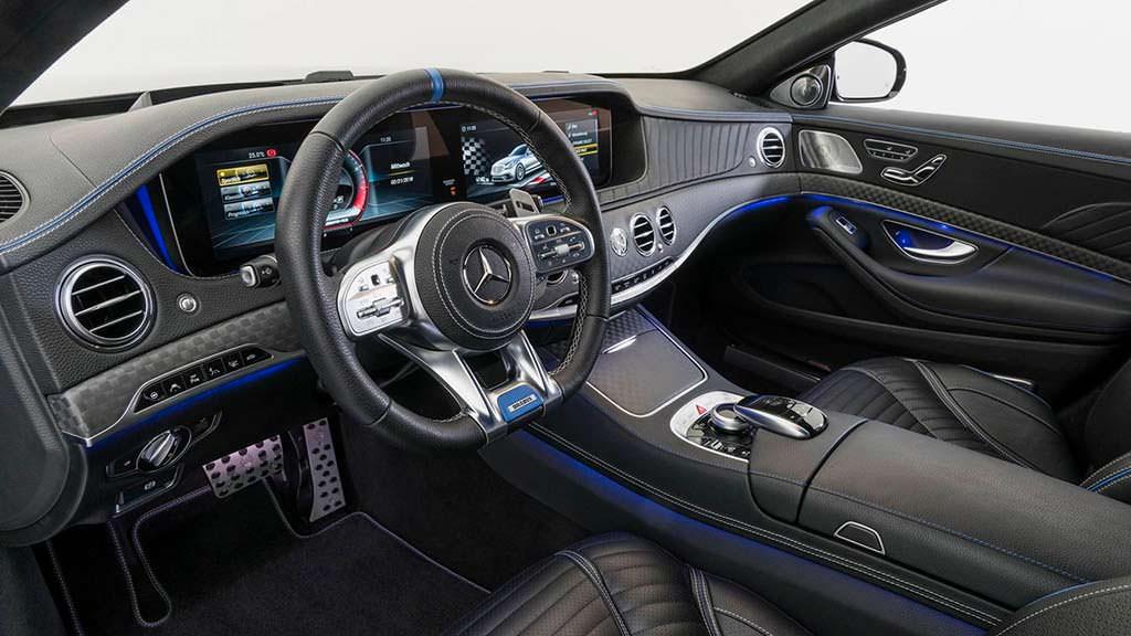 Фото салона Mercedes-AMG S63. Тюнинг Brabus