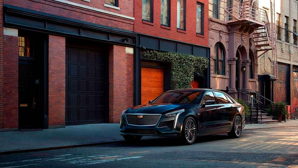 Спортивный седан Cadillac CT6 V-Sport