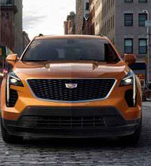Компактный кроссовер Cadillac XT4 официально | фото