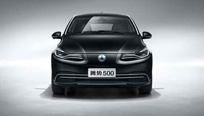 Daimler показал китайский электромобиль Denza 500 | фото