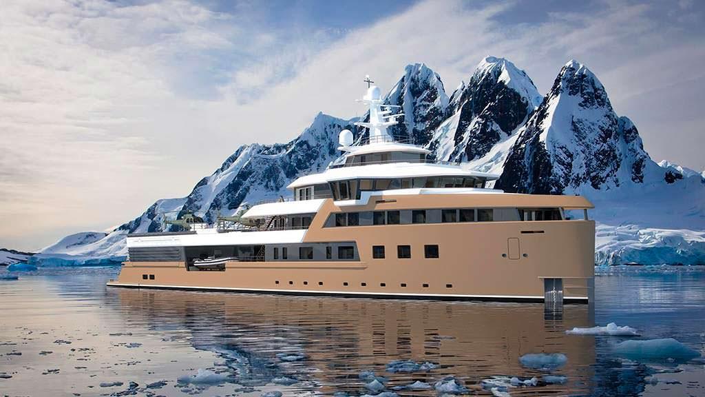 Исследовательское судно Damen SeaXplorer 77