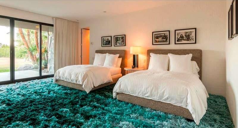 Дизайн гостевой спальни с двумя кроватями