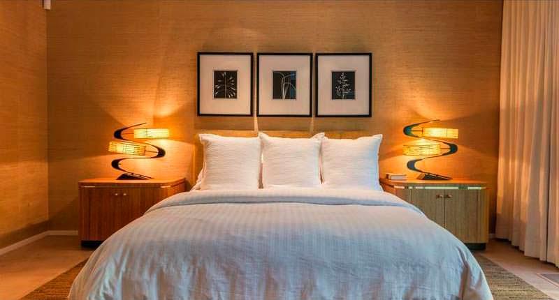 Дизайн спальни в доме основателя McDonald's