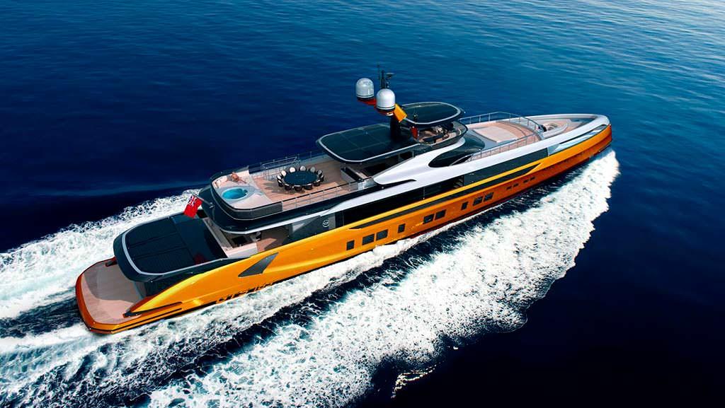 50-метровая яхта Dynamiq GTT 165