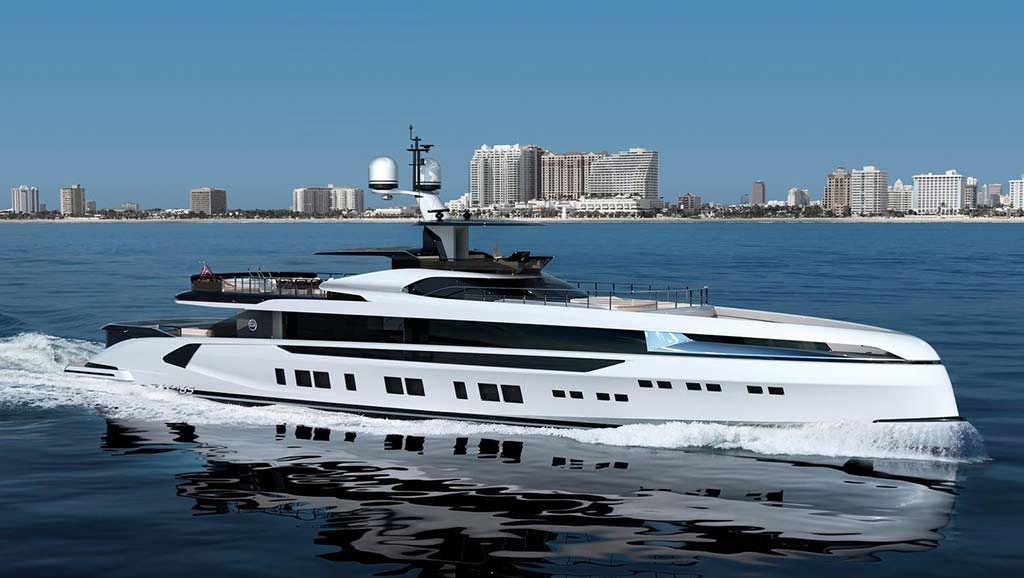Новая яхта длиной 50 метров Dynamiq GTT 165