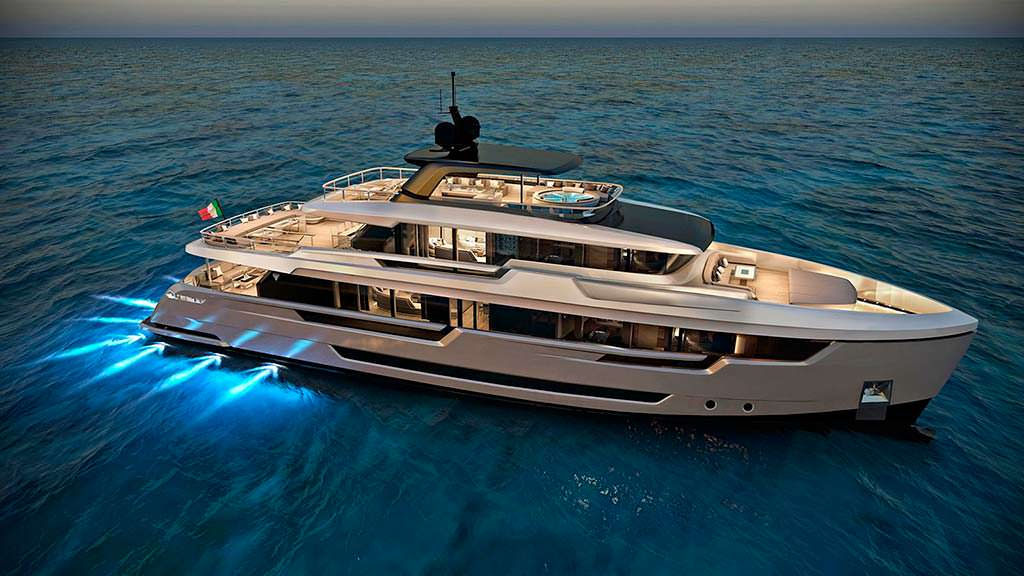 Filippetti Yacht E32. Длина 32 метра