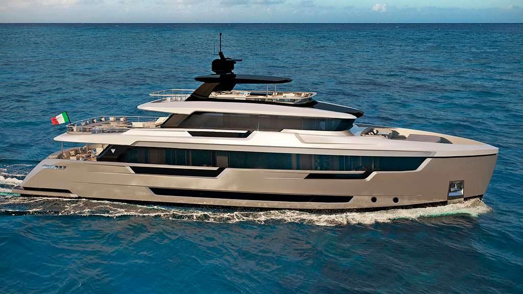 Итальянская яхта Filippetti E32