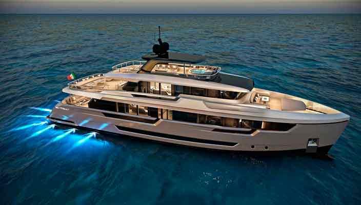 Filippetti Yacht показала 32-метровую яхту E32 | фото