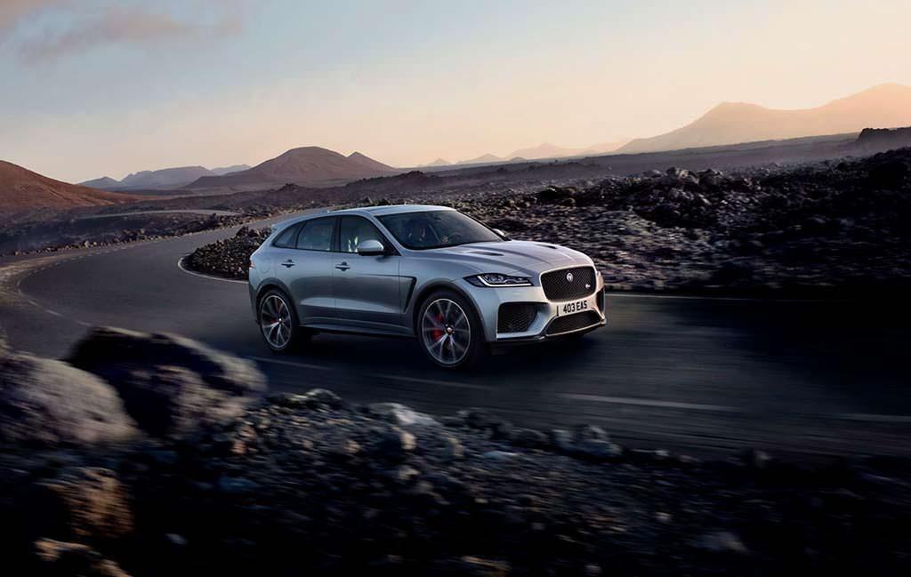 Самый быстрый Jaguar F-Pace SVR