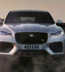 Самый быстрый Jaguar F-Pace SVR с V8 официально | фото