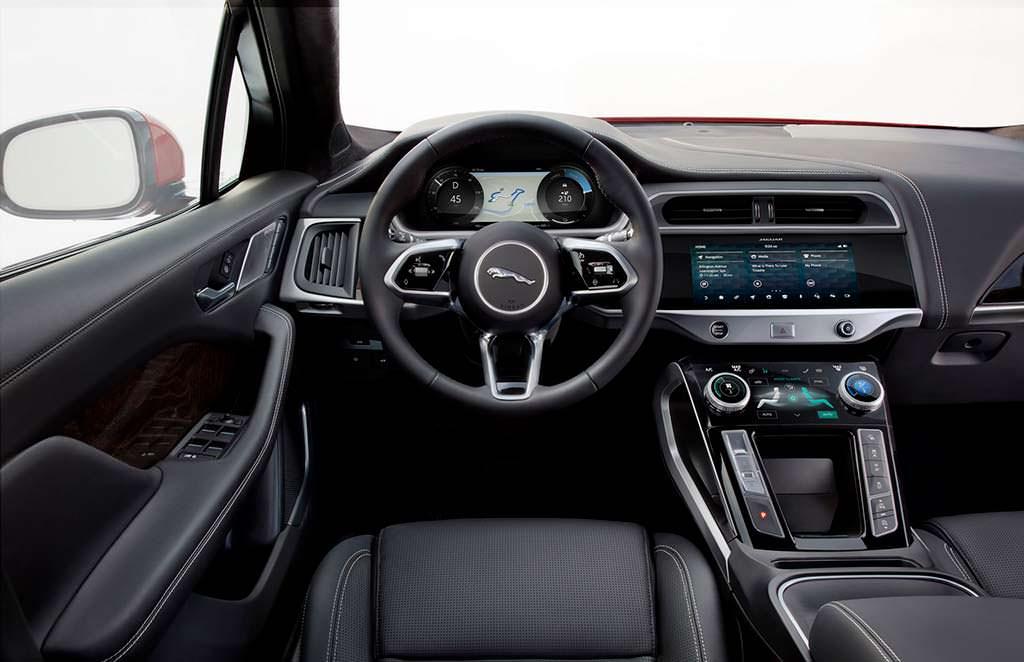 Фото внутри Jaguar I-Pace 2019