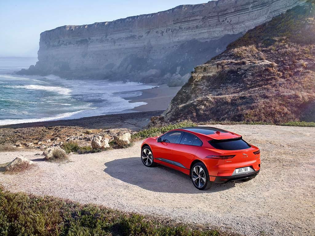 Серийный электромобиль Jaguar I-Pace