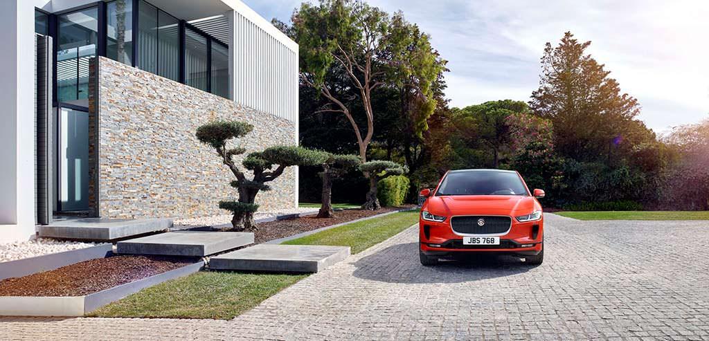Электромобиль Jaguar I-Pace 2019