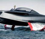 Enata Marine выпустила катер на подводных крыльях Foiler
