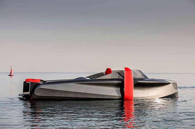 Катер на подводных крыльях Foiler от компании Enata Marine