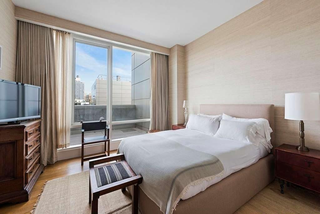 Спальня в квартире Джастина Тимберлейка