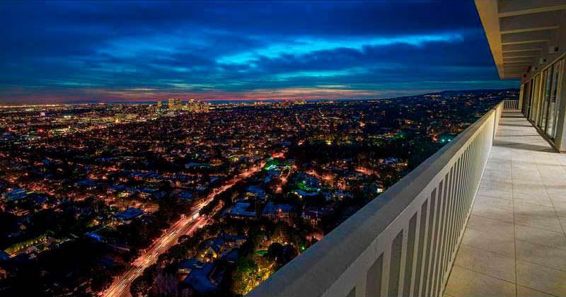 Квартира с видом на Лос-Анджелес