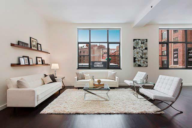 Квартира Оливии Уайлд и Джейсона Судейкиса в Нью-Йорке