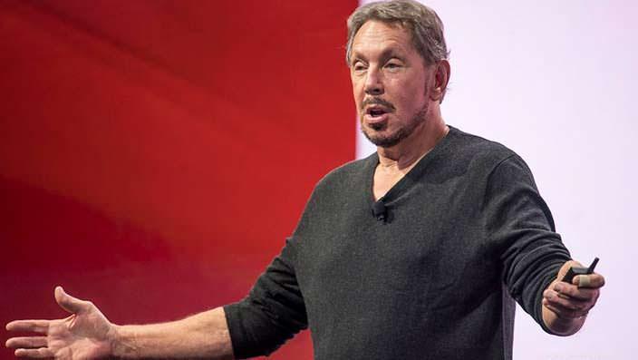 Ларри Эллисон - основатель компании Oracle