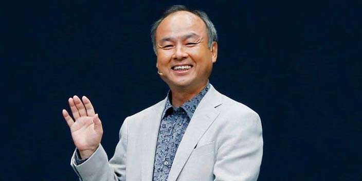 Японский миллиардер Масаёси Сон