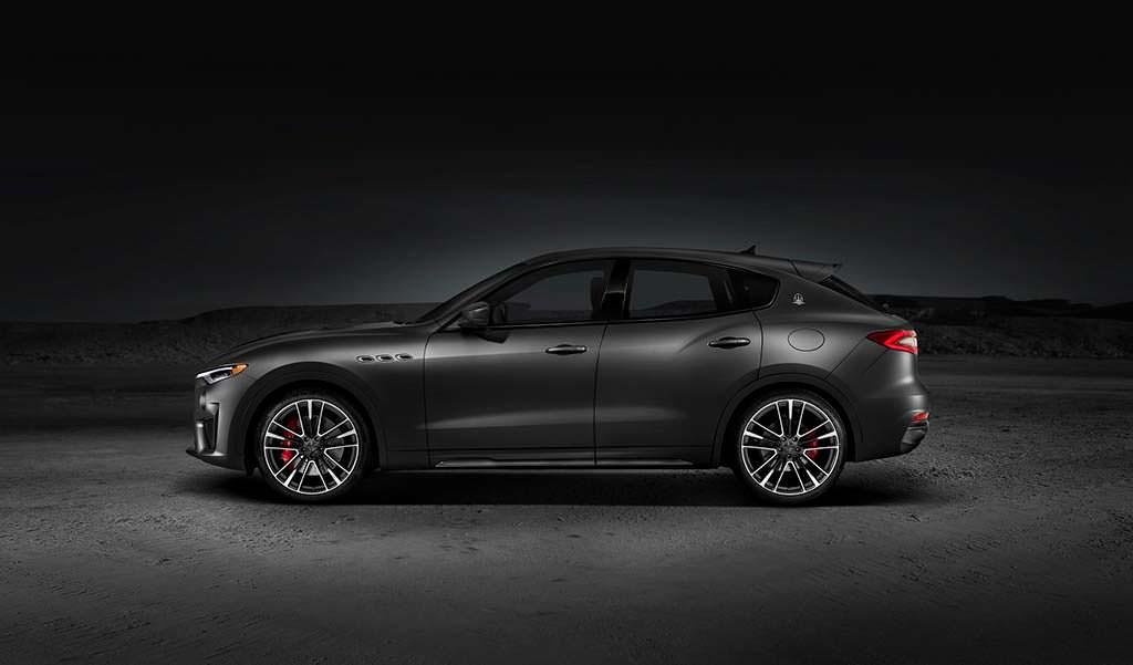 Новая Maserati Levante Trofeo
