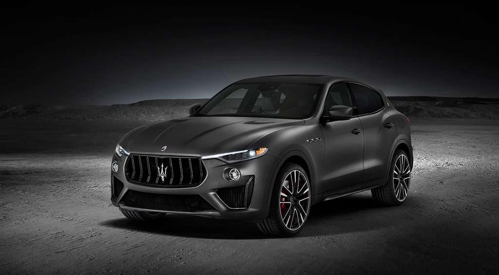 Супер-кроссовер Maserati Levante Trofeo