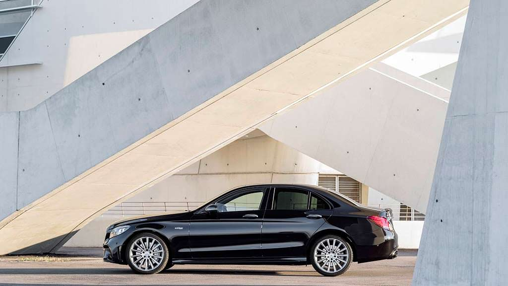 Новый Mercedes-AMG C43 2019 года