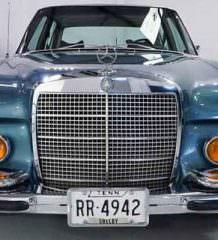 Продается Mercedes-Benz 280SEL Элвиса Пресли | цена и фото