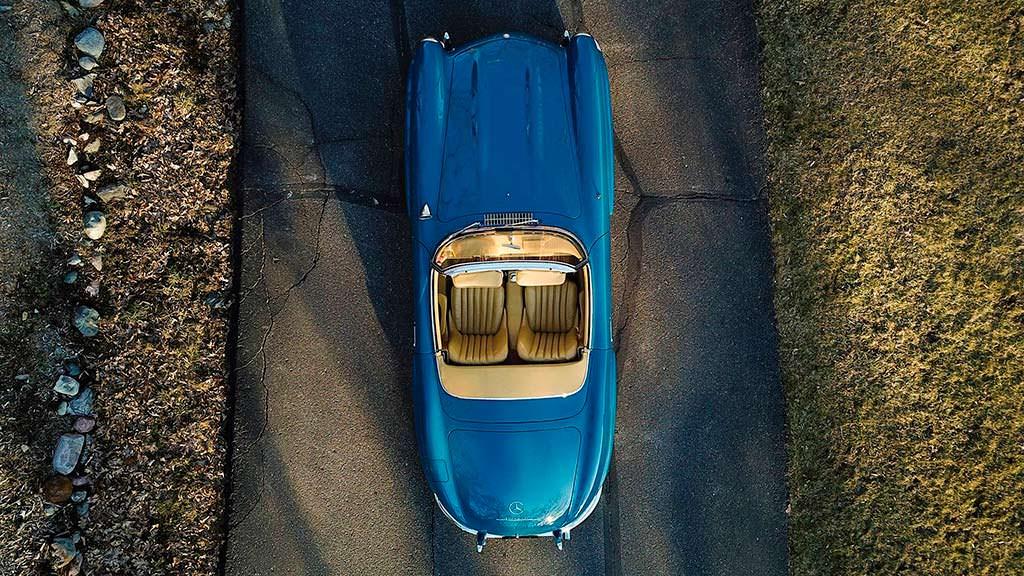 Mercedes-Benz 300 SL Roadster в идеальном состоянии