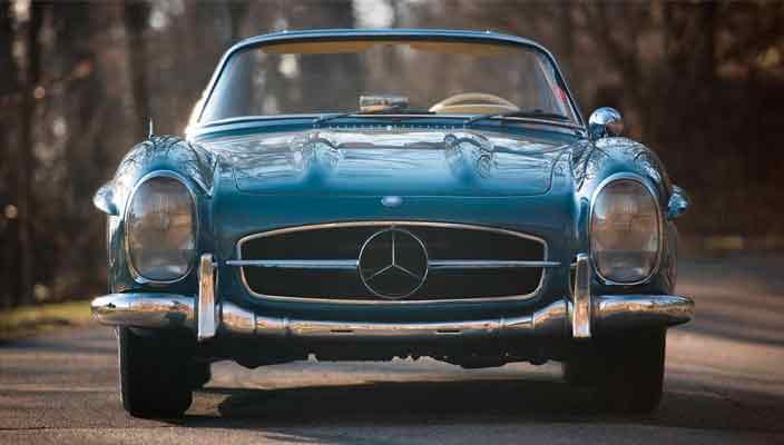 Коллекционный Mercedes-Benz 300 SL Roadster продается | цена