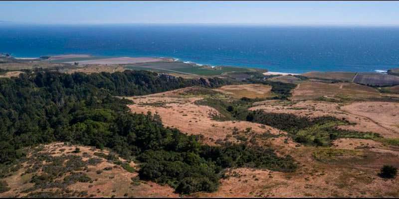 Участок земли 70,82 гектара на берегу Тихого океана