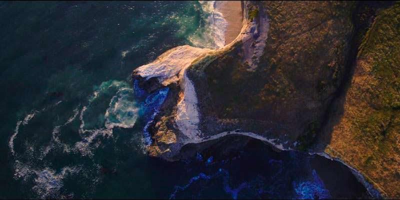Нудистский пляж Red White & Blue Beach в Санта-Круз